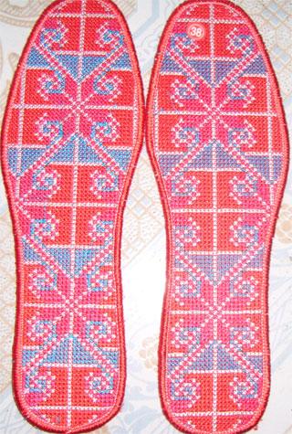 【十字绣鞋垫成品】十字绣鞋垫成品批发价格