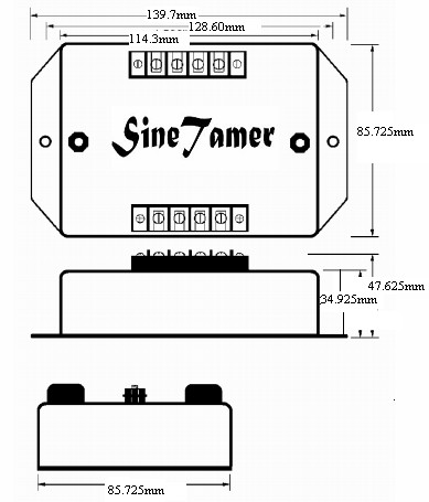 美国sinetamer数据线路保护器 st-d/st-tc-#din