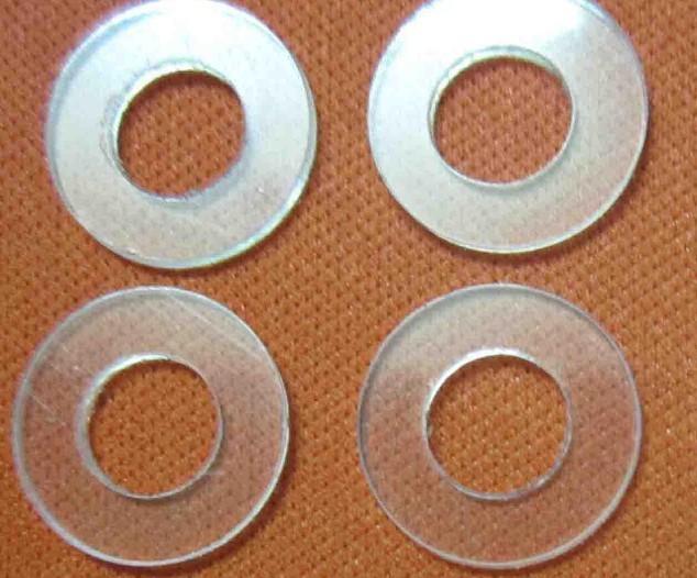 黑色圆形塑料垫圈; 【圆形透明塑料垫片】圆形透明