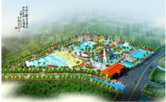 设计008; 水上乐园规划;
