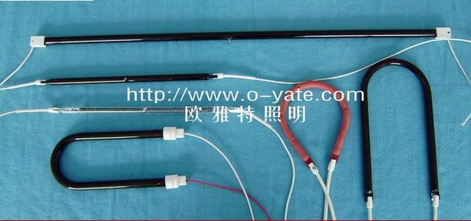 胶和油墨的高温固化专用红外线石英电加热管